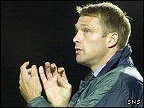 Dundee manager Alan Kernaghan