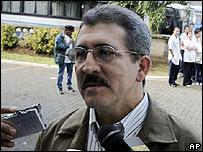 Antonio Garc�a, jefe militar del ELN