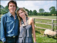 Paul McCartney and Heather Mills McCartney