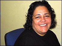 Soraya Bayuelo, coordinadora del colectivo