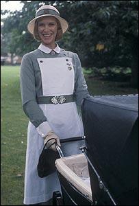 Wendy Craig in BBC's Nanny in 1980