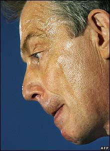 UK PM Tony Blair