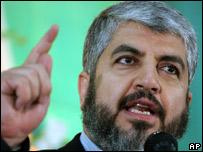Hamas exiled leader Khaled Meshaal