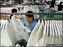 Compañía china de productos textiles