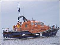 Tenby's Tamar lifeboat