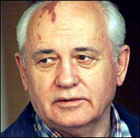 Former Soviet leader Mikhail Gorbachev (file photo, 1999)