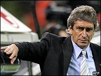 Entrenador chileno del Villarreal, Manuel Pellegrini
