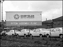 Chrysler Works sign