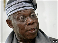Nigerian President Olusegun Obasanjo