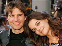 Tom Cruise and Katie Holmes pictured in June 2005