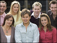 ITV Play presenter Brian Dowling