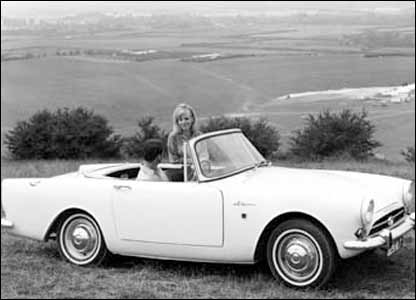 Sunbeam Alpine: image supplied by the British Motor Industry Heritage Trust