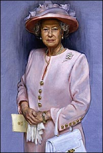Portrait of the Queen, by Jemma Phipps. Pic by kind permission of Ascot Racecourses Ltd.