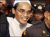 Convicted Bali bomber Amrozi (file image)