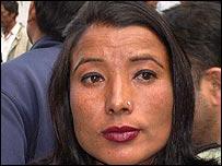 Lakshmi, Nepalese protester