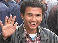 Pawan, Nepalese protester