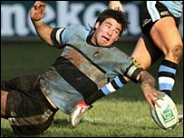 Mike Phillips of the Cardiff Blues