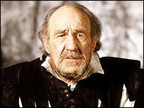 Michael Horden as King Lear