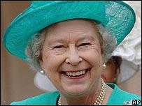 La reina Isabel II de Gran Bretaña.
