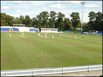 Sophia Gardens will be transformed into a Test venue