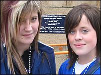 Faye Angeletta and Rebecca Bourke
