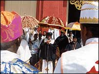 Priests in Eritrea