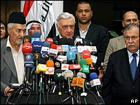 Iraqi politicians