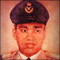 Flight Lieutenant M Matiur Rehman <i>(Photo from Bangladesh army website) </i>