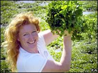 Gardener Charlie Dimmock