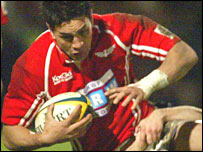 Regan King has impressed during his first season with the Scarlets