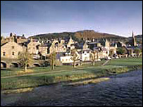 View of Peebles