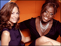 Lisa Butcher and Mica Paris