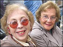 Esther Poteshman and Arlene Shirman