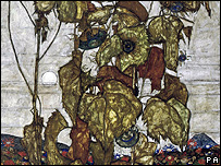 Egon Schiele's Wilted Sunflowers (Autumn Sun II)