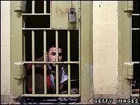 Iraqi at Abu Ghraib prison