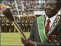 President Robert Mugabe. File photo