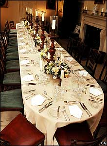 Kew Palace dining room