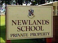 Newlands School sign