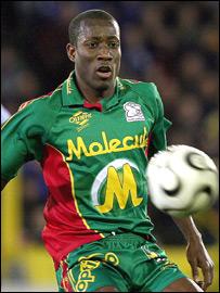 Ghanaian striker Ibrahim Salou