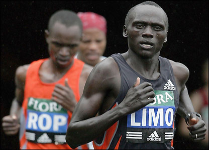 Kenyan Felix Limo shows intentions of claiming another title