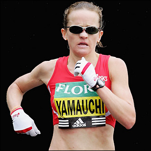 Mara Yamauchi finishes just short of four minutes off the pace