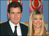 Charlie Sheen and Denise Richards, in November 2003