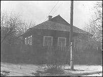 Дом в Чернобыле, где вырос автор