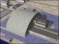 Проект установки безопасного укрытия над 4-м энергоблоком