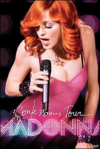 Afiche del nuevo album de Madonna.