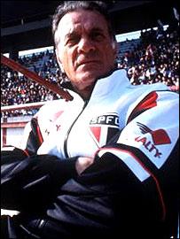 Former Brazil coach Tele Santana