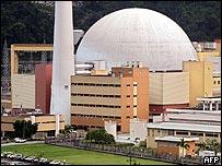 Central nuclear en Brasil