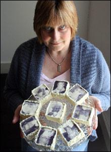 Mae Jennifer Phillips wedi defnyddio crai cyffredin i greu gweithiau celf go anghyffredin