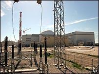 Reactor nuclear en construcci�n en Ir�n
