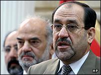 Iraq's new prime minister designate, Jawad al-Maliki